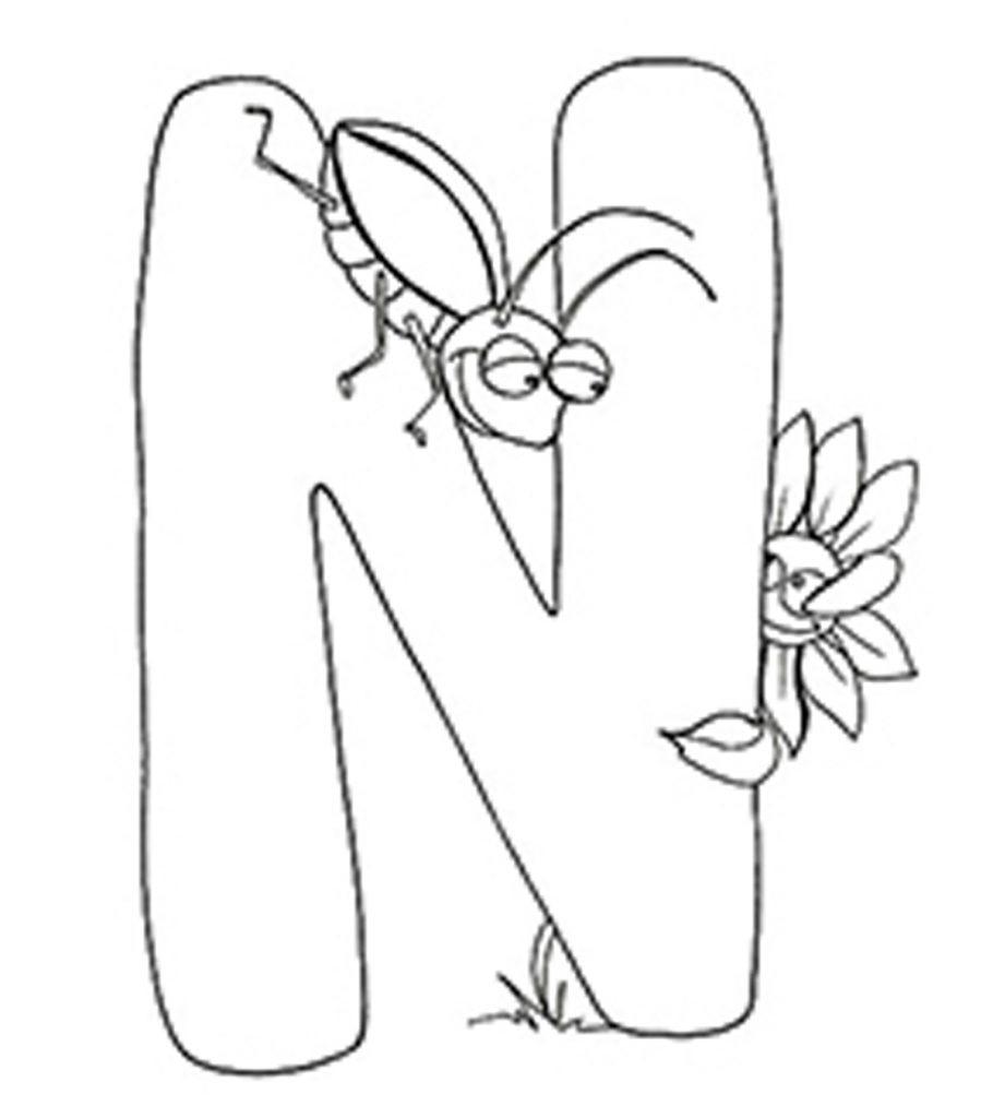 Top 10 Free Printable Letter N Coloring Pages Online - 39+ Printable Letter N Worksheets For Kindergarten PNG