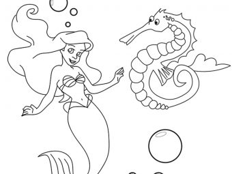 Top 10 Seahorse Coloring Pages For Your Little Ones
