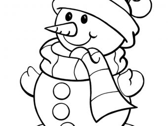 Top 24 Snowman Coloring Pages Your Toddler Will Love To Color
