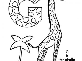 Top 25 Letter 'G' Coloring Pages Your Toddler Will Love To Learn & Color