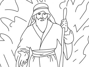 Top 25 Moses Coloring Pages For Your Little Ones