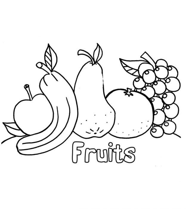 Top 30 Apple Coloring Pages For Your Little Onesrhmomjunction: Colouring Pages Of Apple At Baymontmadison.com