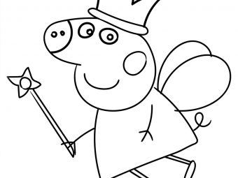 Top 35 Peppa Pig Coloring Pages For Your Little Ones