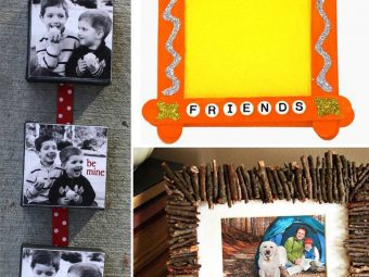 Top 5 Photo Frame Craft Ideas For Kids