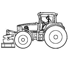Tractor-frent