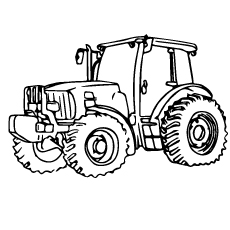 Tractor-glass