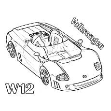 Volkswagen W12 Sports Car