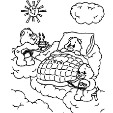 Coloring Pages Of Teddy Bear And Family