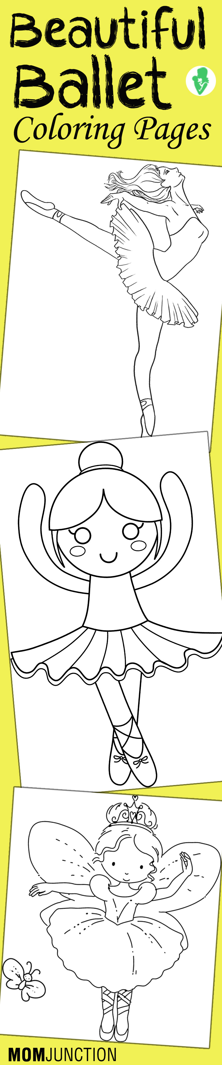 Princess ballerina coloring pages