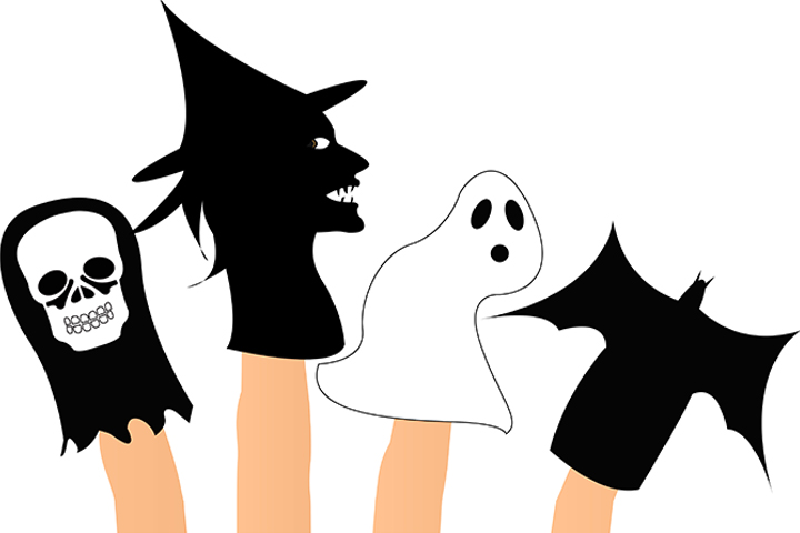 bat puppets