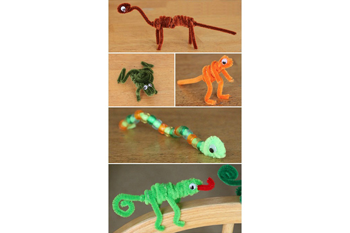 bendable magnetic animals
