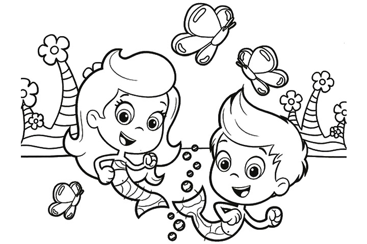 Bubble Guppies Coloring Pages Goby - #traffic-club