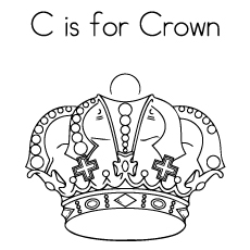 c is for crown