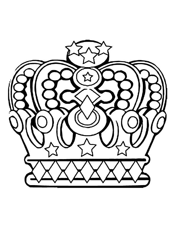 coloring-page-of-crown