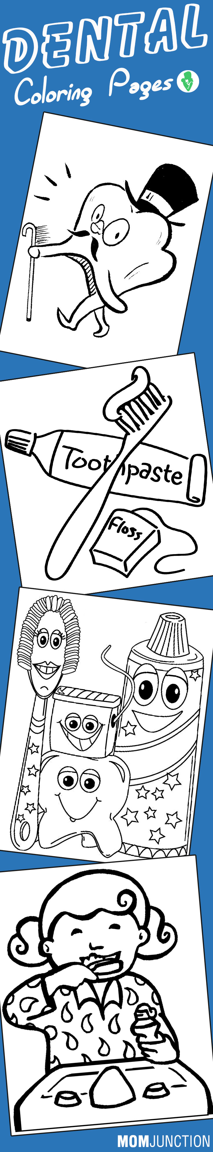 Childrens dental coloring pages - Childrens Dental Coloring Pages 55