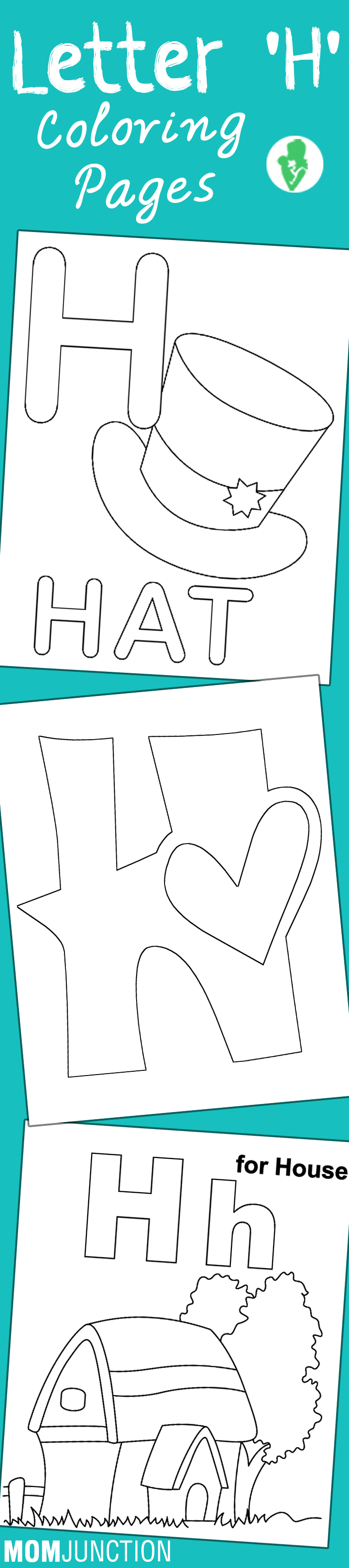 Free printable coloring pages letter h - Free Printable Coloring Pages Letter H 31