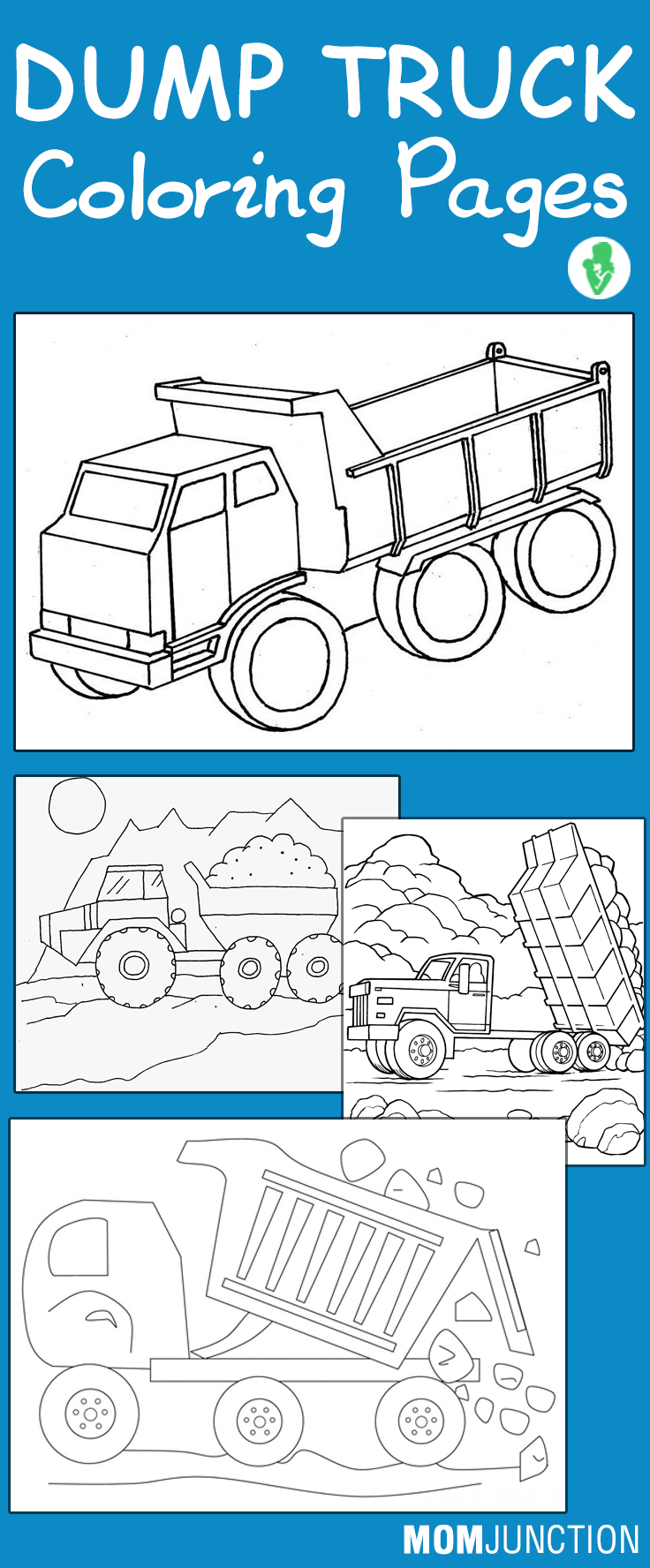top 10 printable dump truck coloring pages online