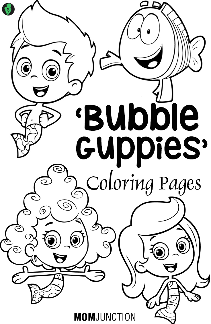 Adult Beauty Printable Bubble Guppies Coloring Pages Gallery Images best bubble guppies coloring pages 25 free printable sheets images