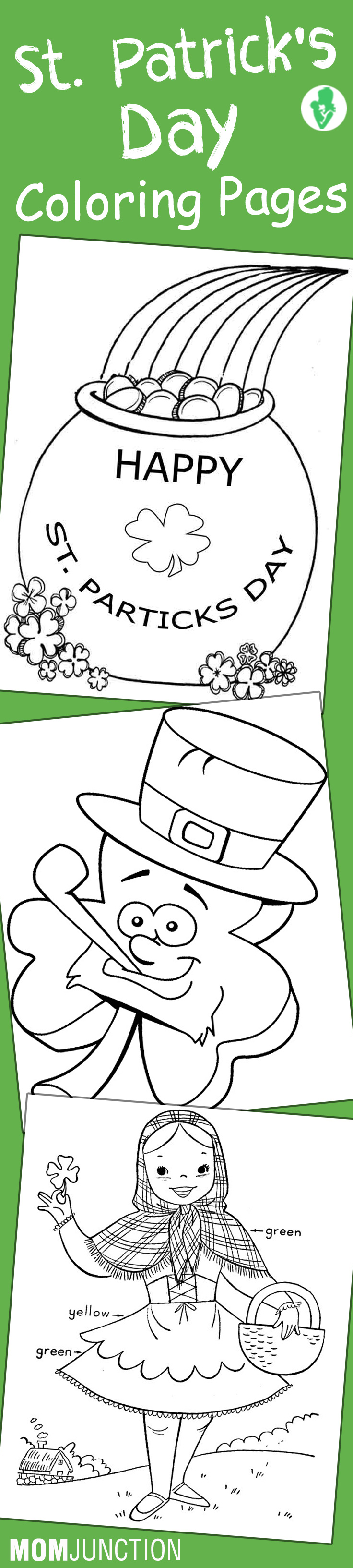 Free coloring pages shamrock - Free Coloring Pages Shamrock 35
