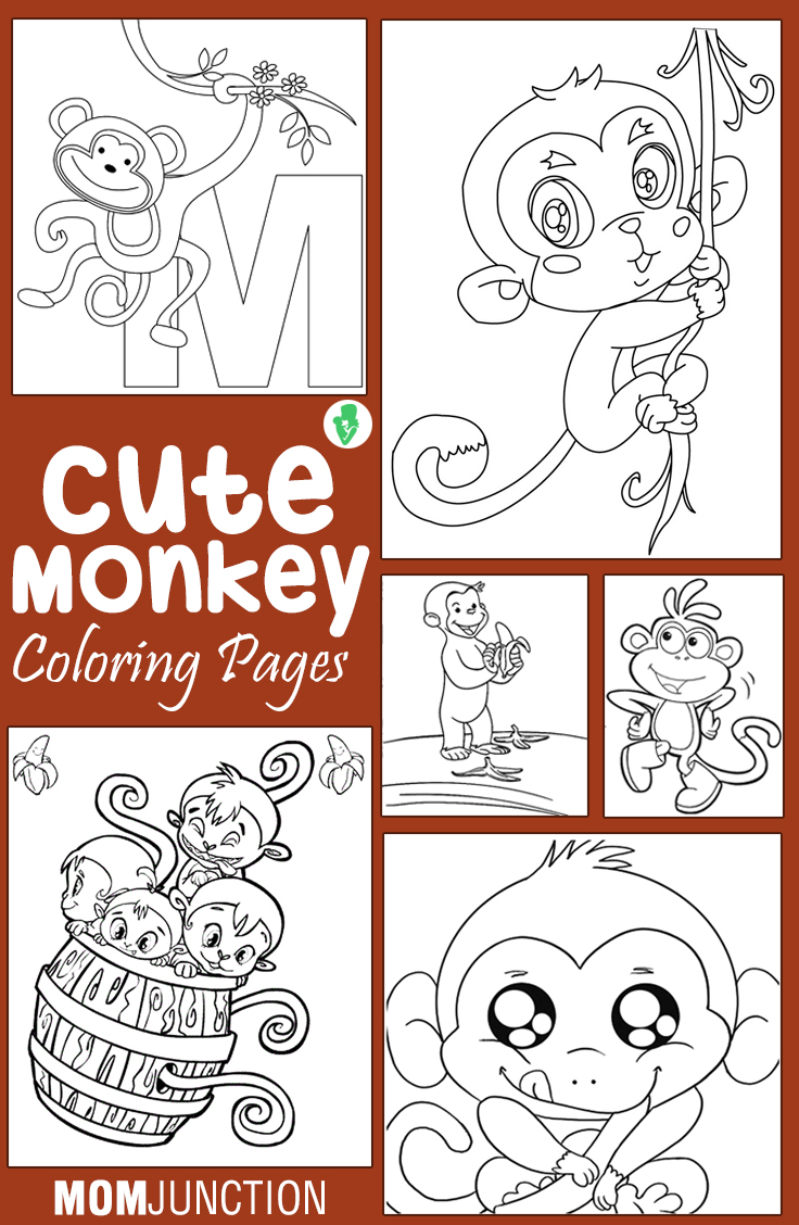 Coloring Pages Howler Monkey Coloring Page top 25 free printable monkey coloring pages for kids