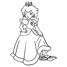 commission go princess peach - Baby Princess Peach Coloring Pages