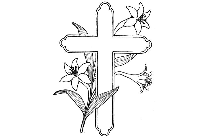 cross coloring pages jpg 720 480 crafts pinterest crosses