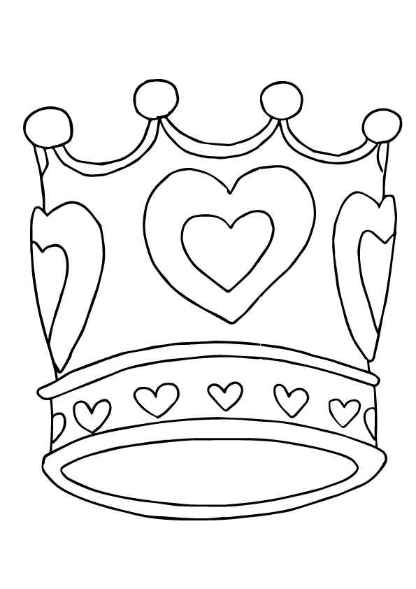 crown-heart-shape
