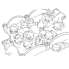 Baby Hamster Coloring Pages | Coloring Page