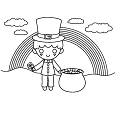 Top 25 Free Printable St. Patrick\'s Day Coloring Pages Online