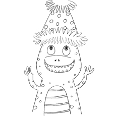 eric carle coloring pages grouchy ladybug coloring | Eric Carle Coloring Pages - Free Printables - MomJunction