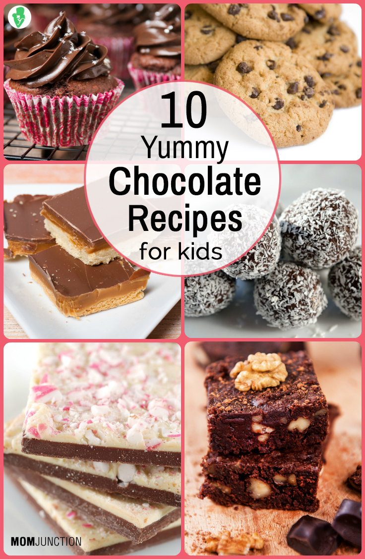 10 Simple and Easy Chocolate Recipes For Kids