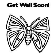 Get Well Soon fly to Color
