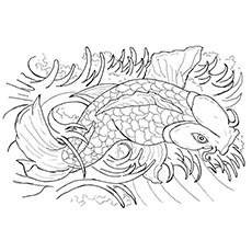 Japanese Koi Fish Tattoo Flash By Caylyngasm.  Koi_Fish___part_1_by_dj_neogirl