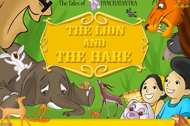 the lion and the hare story for your kids lion and the hare story