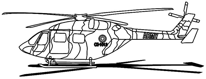 army helicopter coloring pages - photo#24