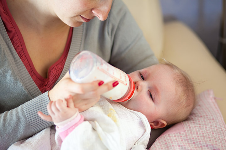 milk allergy in babies