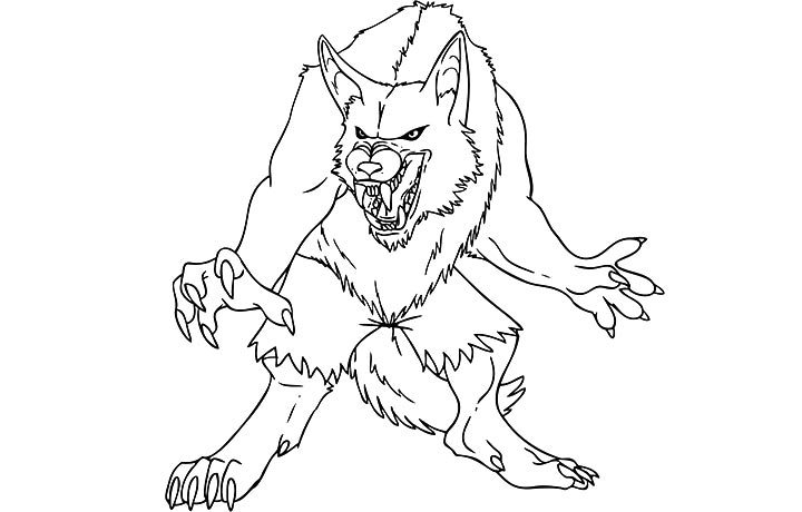 Mythical Monster Coloring Pages | Coloring Page