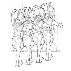 Nutcracker Ballet Colouring Pages Nutcrackercoloringpage