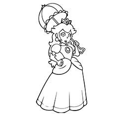 100+ ideas coloring pages for princess peach on cleanrr.com - Baby Princess Peach Coloring Pages