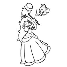 princess-peach-hammer