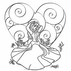 princess-valentine-coloring-page