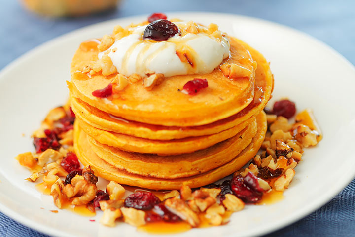 probiotic yogurt pancakes