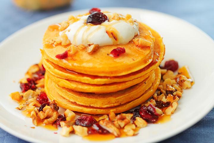probiotic yogurt pancakes