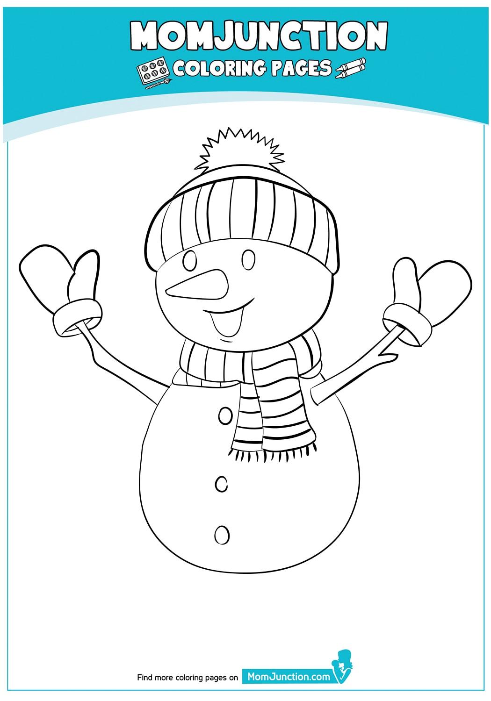 snowman-wearing-hat-gloves