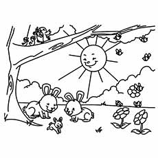 Spring Coloring Pages Fair Top 35 Free Printable Spring Coloring Pages Online Design Ideas
