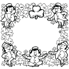 st patricks day coloring page great - St Patricks Day Coloring Pages