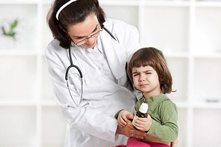 stomach pain in toddlers