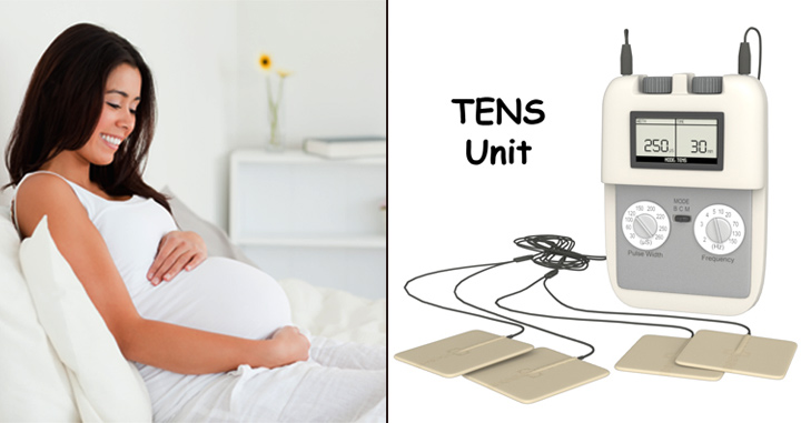 tens machine during labour