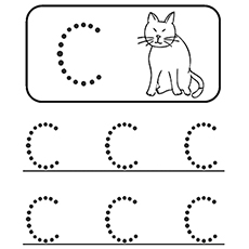 Letter C Coloring Pages For Preschoolers Interesting Top 10 Free Printable Letter C Coloring Pages Online