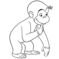 15 Best \'Curious George\' Coloring Pages For Your Little Ones
